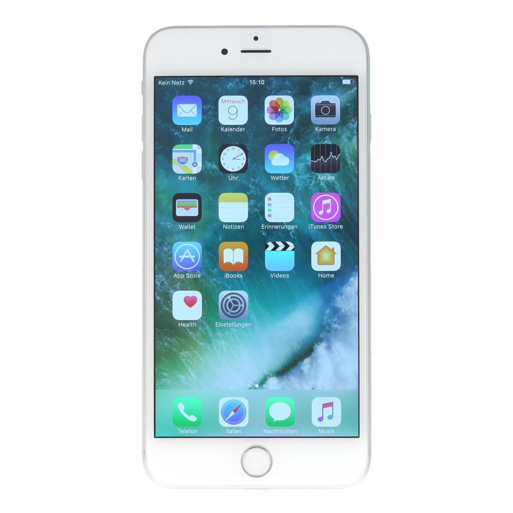 apple iphone 6 plus a1524 128 gb silber gut asgoodasnew. Black Bedroom Furniture Sets. Home Design Ideas