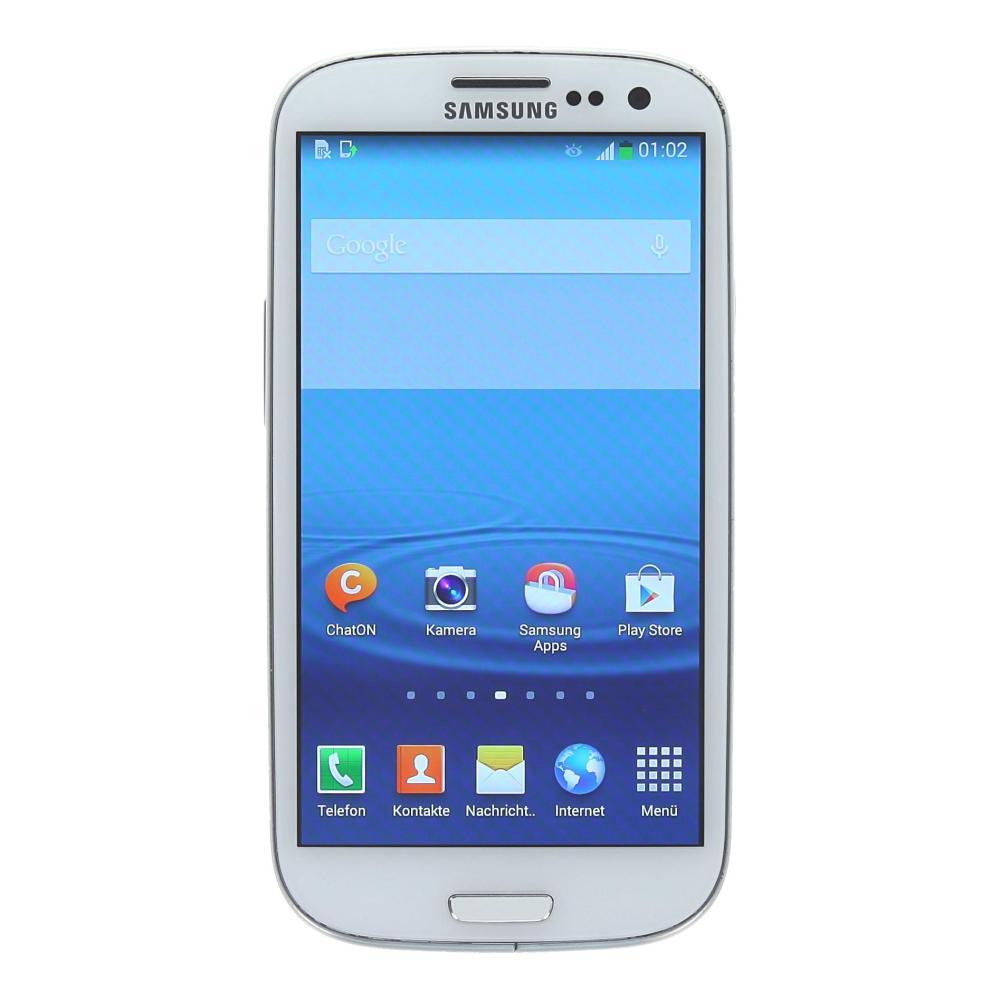 Samsung Galaxy S3 I9300 64 Gb Marble White Gut Asgoodasnew