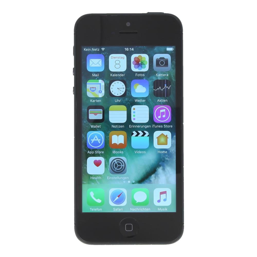 apple iphone 5 a1429 64 gb schwarz gut asgoodasnew. Black Bedroom Furniture Sets. Home Design Ideas