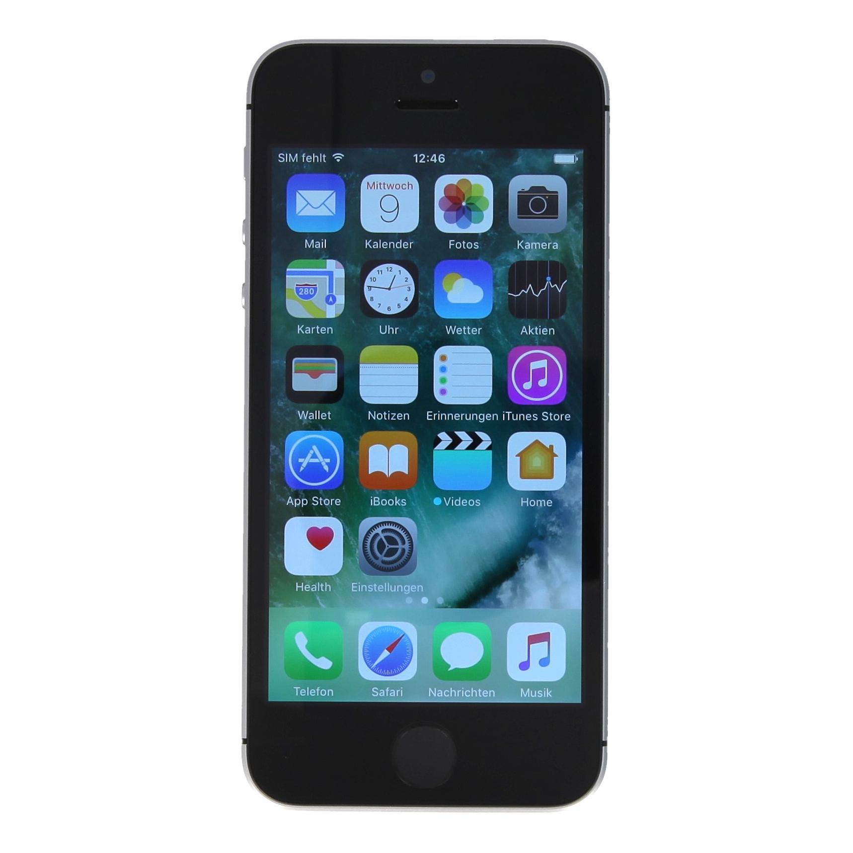 apple iphone se a1723 128 gb gris espacial como nuevo. Black Bedroom Furniture Sets. Home Design Ideas