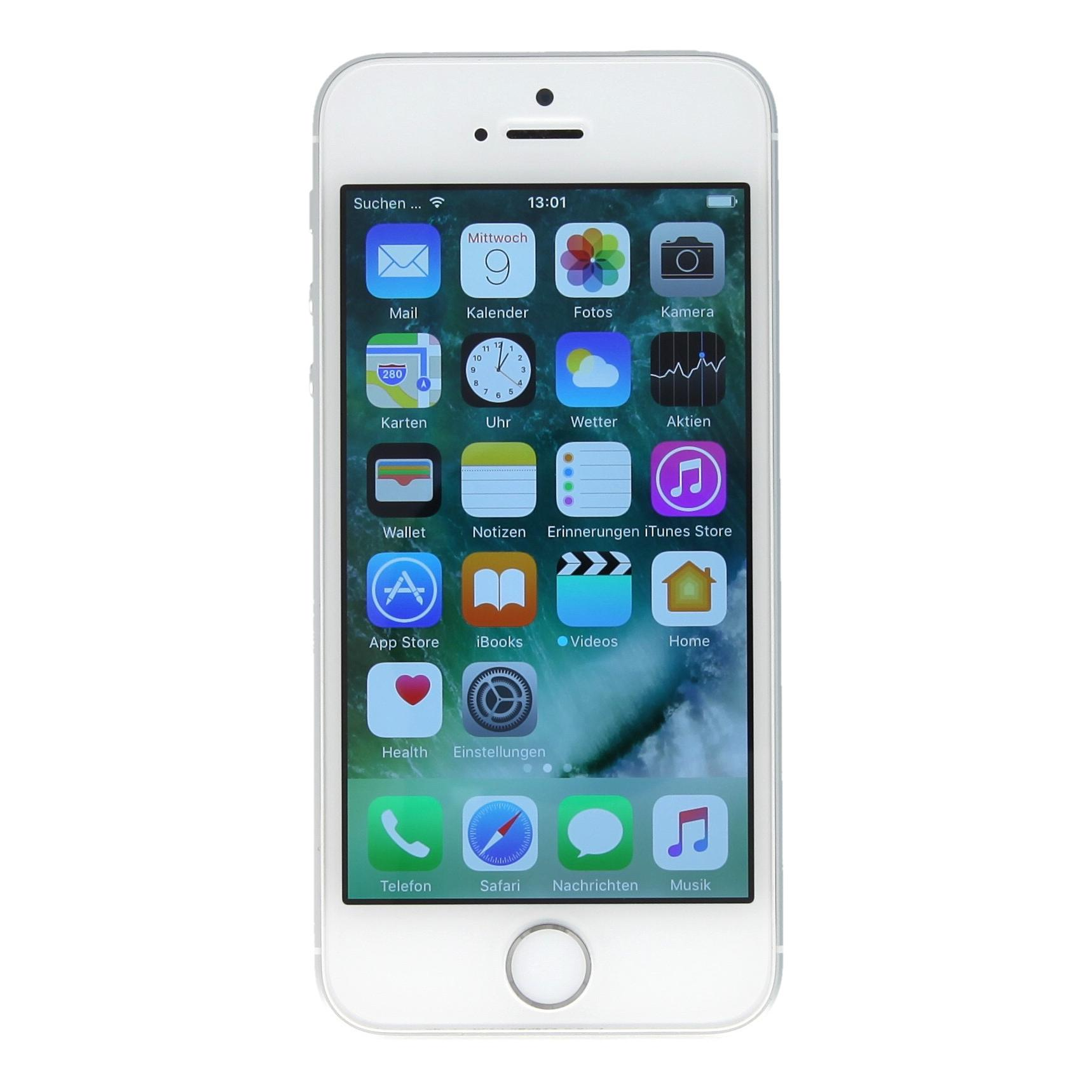 apple iphone se a1723 128 gb plata muy bueno asgoodasnew. Black Bedroom Furniture Sets. Home Design Ideas
