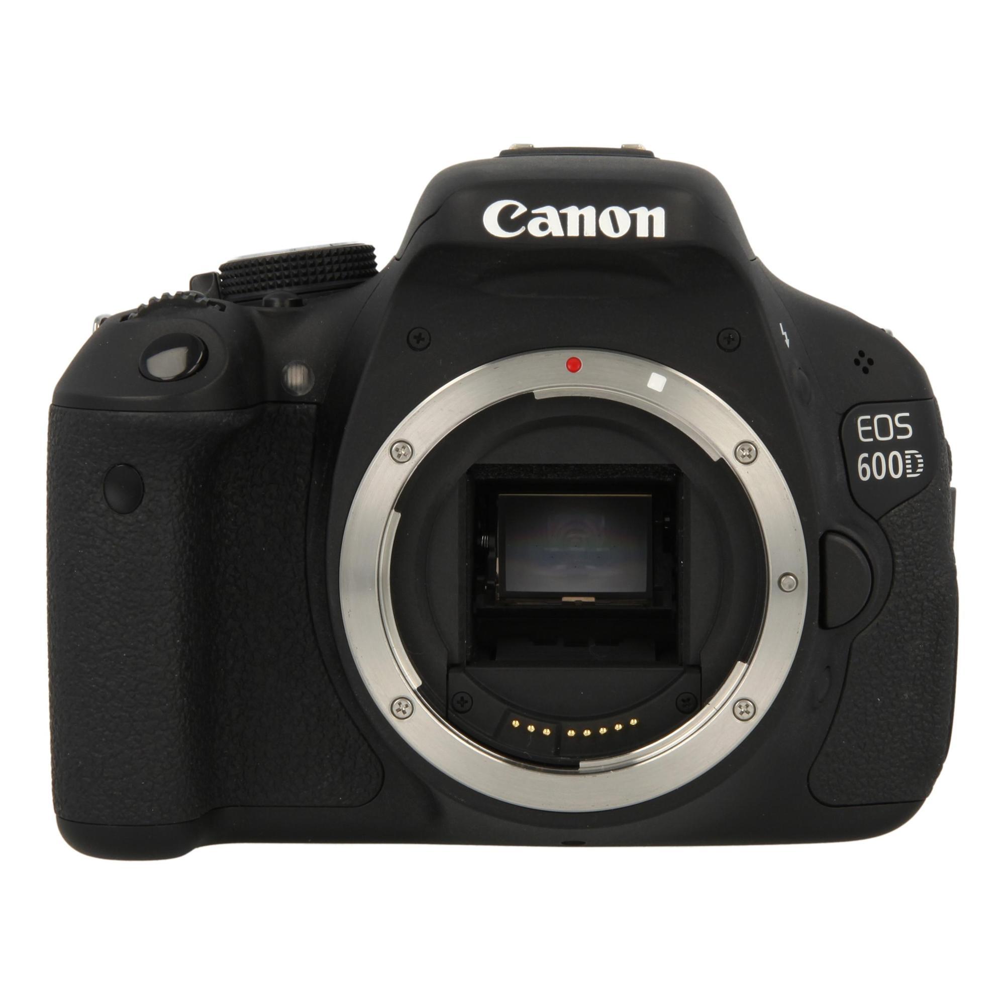 Canon eos 600d negro buen estado asgoodasnew for Housse canon eos 600d