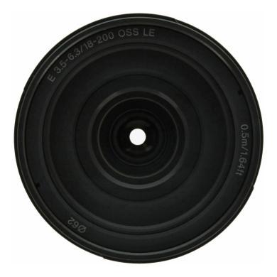 Sony 18-200mm 1:3.5-6.3 AF E OSS LE (SEL18200LE) schwarz - neu