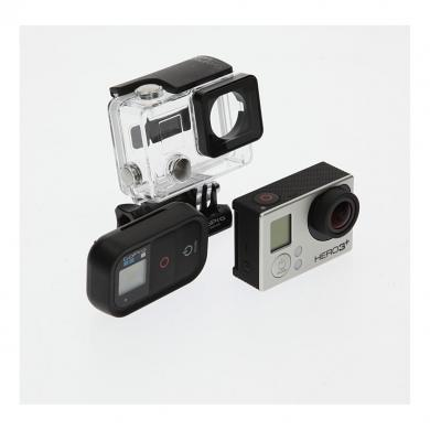 Go Pro Hero3+ Black Edition inklusive Fernbedienung schwarz - gut