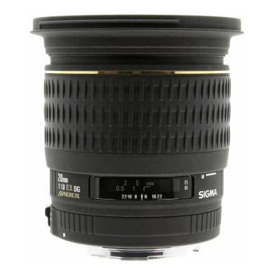 Sigma 20mm 1:1.8 EX DG ASP für Canon schwarz - neu
