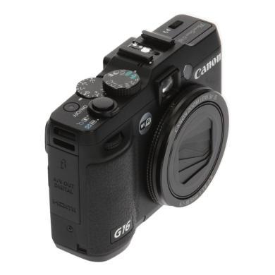 Canon PowerShot G16 Schwarz - neu