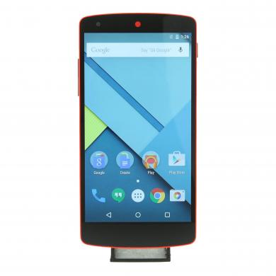 LG Google Nexus 5 32 GB Rojo - buen estado