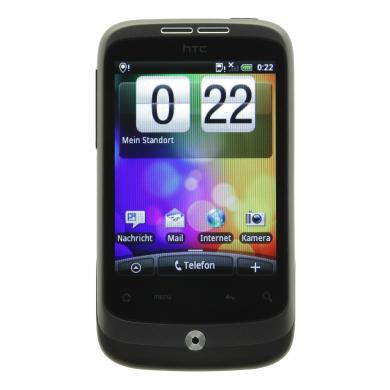 HTC Wildfire grau - gut