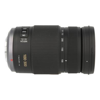 Panasonic 100-300mm 1:4-5.6 Lumix G Vario OIS (H-FS100300E) Schwarz - neu