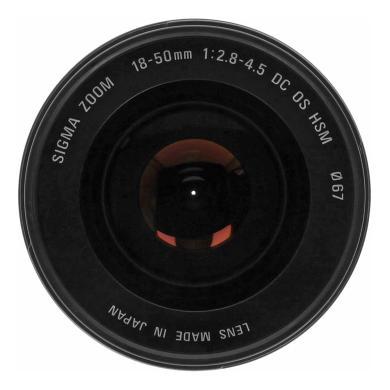 Sigma 18-50mm 1:2.8-4.5 DC OS HSM für Sony & Minolta  schwarz - neu