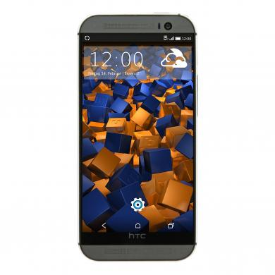 HTC One M8 16 GB Gunmetal Grau - gut