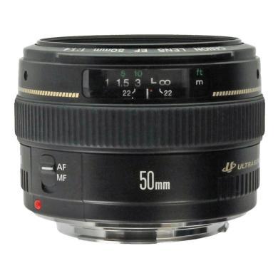 Canon EF 50mm 1:1.4 USM Schwarz - neu