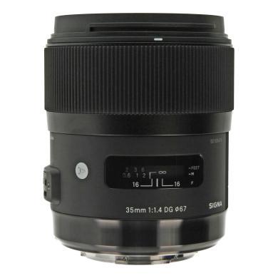 Sigma 35mm 1:1.4 DG HSM Art für Sony / Minolta Schwarz - neu