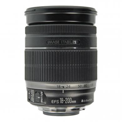 Canon EF-S 18-200mm 1:3.5-5.6 IS Schwarz - gut