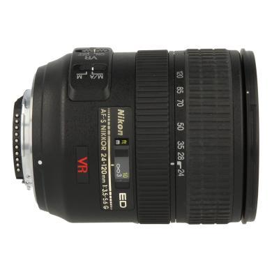 Nikon AF-S 24-120mm 1:3.5-5.6 G ED VR NIKKOR negro - nuevo