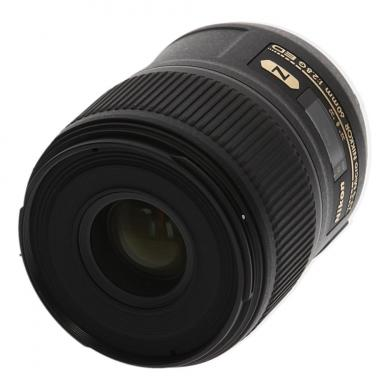 Nikon Micro-Nikkor 60 mm F2.8 SWM AF-S Aspherical N G ED Objektiv Schwarz - neu