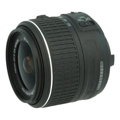 Nikon 18-55mm 1:3.5-5.6 AF-S G DX VR II NIKKOR Schwarz - neu