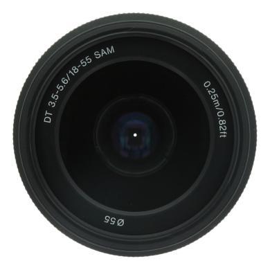 Sony 18-55mm 1:3.5-5.6 AF DT SAM (SAL1855) negro - nuevo