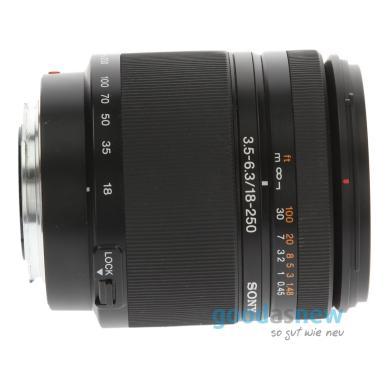 Sony 18-250mm 1:3.5-6.3 AF DT Schwarz - neu