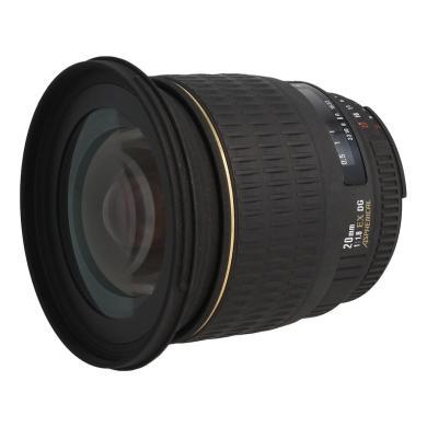 Sigma 20mm 1:1.8 EX DG ASP RF für Nikon Schwarz - neu