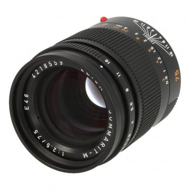 Leica 75mm 1:2.5 Summarit-M Schwarz - neu