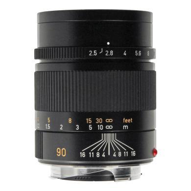 Leica 90mm 1:2.5 Summarit-M Schwarz - neu