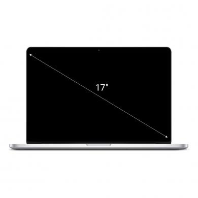 "Apple MacBook Pro 2009 17"" Intel Core 2 Duo 3.06 GHz 256 GB Samsung SSD 850 PRO 256GB 8 GB DDR3 1067 MHz plata - nuevo"