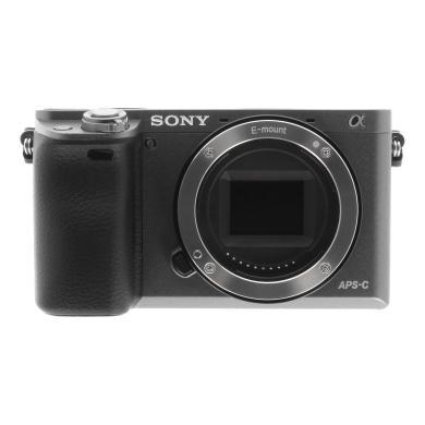 Sony Alpha 6000 (ohne Objektiv) grau - neu
