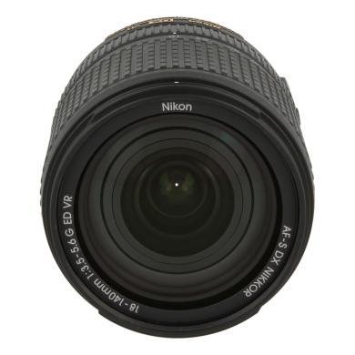 Nikon 18-140mm 1:3.5-5.6 AF-S G VR DX ED NIKKOR noir - Neuf