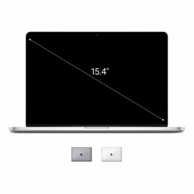 "Apple Macbook Pro 2014 15,4"" (QWERTZ) écran Retina Intel Core i7 2,2GHz 256Go SSD 16Go argent - Bon"