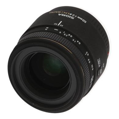 Sigma 50mm 1:2.8 EX DG Macro für Sony / Minolta Schwarz - neu