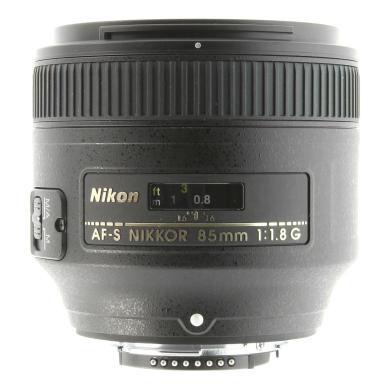 Nikon AF-S Nikkor 85mm 1:1.8G noir - Neuf
