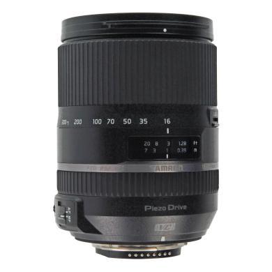 Tamron 16-300mm 1:3.5-6.3 AF Di II VC PZD Macro pour Nikon noir - Neuf