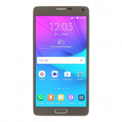 Samsung Galaxy Note 4 (SM-N910F) 32 GB Bronce - nuevo