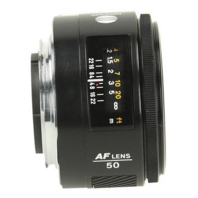 Konica Minolta 50mm 1:1.7 AF Schwarz - neu