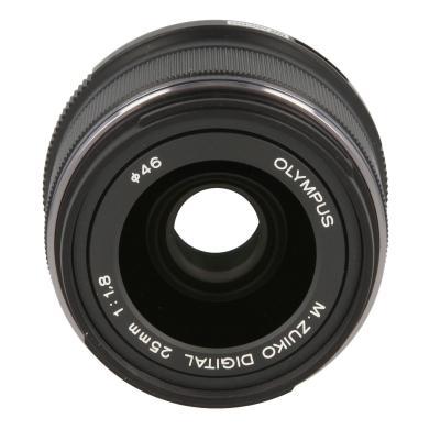 Olympus Zuiko Digital M. Zuiko Digital 25mm 1:1.8 noir - Neuf