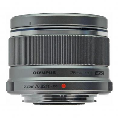 Olympus Zuiko Digital M. Zuiko Digital 25mm 1:1.8 argent - Neuf