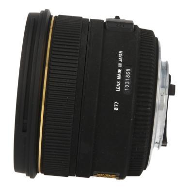 Sigma pour Nikon 50mm 1:1.4 AF EX DG HSM noir - Neuf
