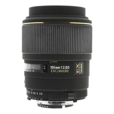 Sigma 105mm 1:2.8 EX DG Macro pour Sigma noir - Neuf