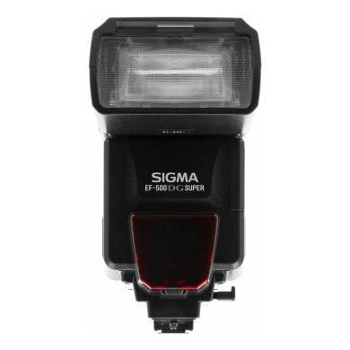 Sigma EF-500 DG Super für Nikon Schwarz - neu