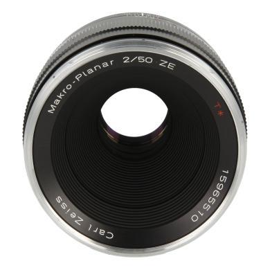 Zeiss Planar T* 2/50 ZE avec Canon EF Mount noir - Neuf