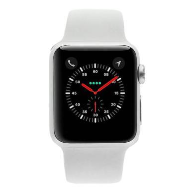 Apple Watch Sport 42mm avec Bracelet sport blanc acier inoxydable argent - Neuf
