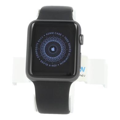 Apple Watch Sport 42mm con con correa deportiva negro Negro - nuevo