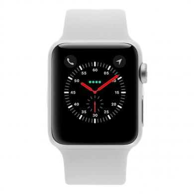 Apple Watch 38mm con con correa deportiva blanco Plata - nuevo