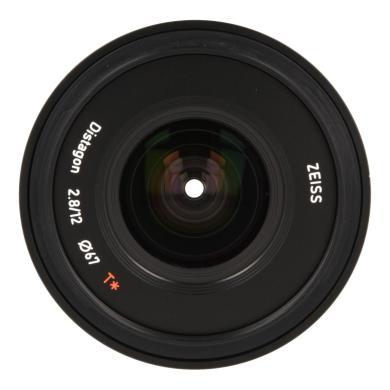 Zeiss Touit 2.8/12 avec Fujifilm X Mount noir - Neuf