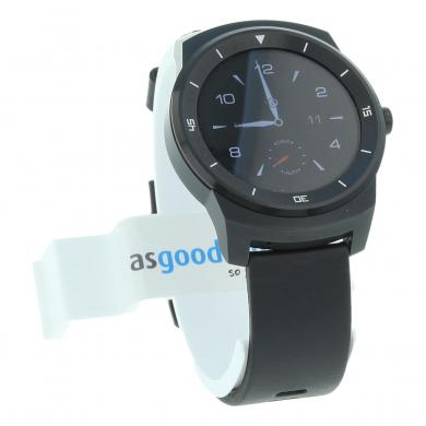 LG G Watch R Schwarz - gut