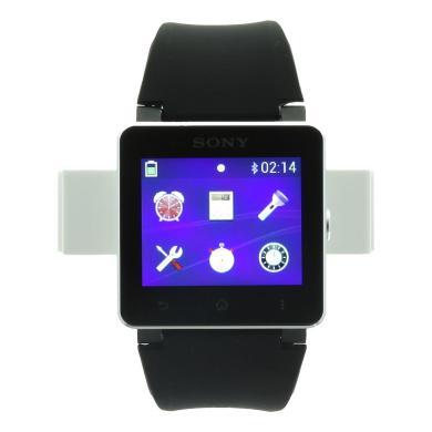 Sony SmartWatch 2 mit Silikonarmband schwarz Schwarz - neu