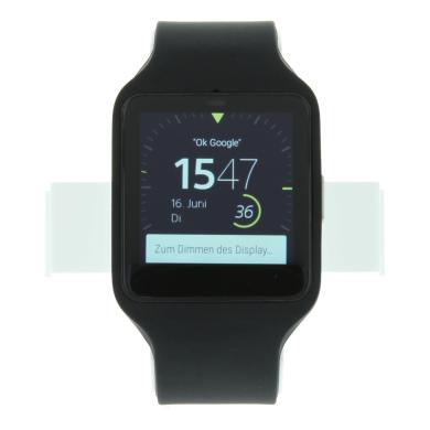 Sony SmartWatch 3mit Silikonarmband Schwarz - neu