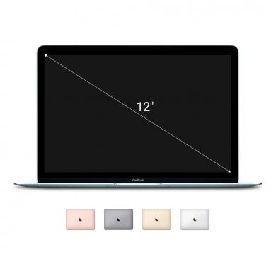 "Apple Macbook 2015 12"" (QWERTZ) écran Retina Intel Core M 1,1GHz 256Go SSD 8Go or - Très bon"
