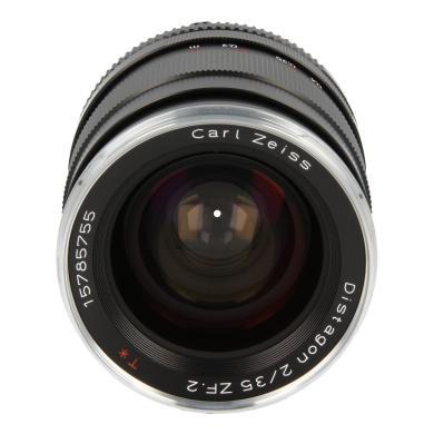 Zeiss 35mm 1:2.0 Distagon T* ZF.2 pour Nikon noir - Neuf